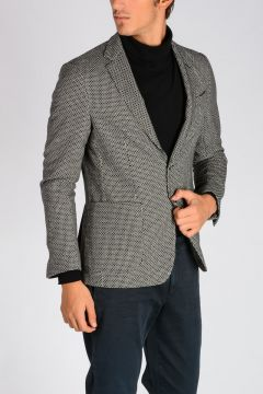 CORNELIANI ID Cotton & Wool Blend Blazer