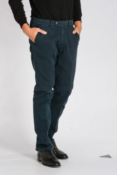 CORNELIANI ID Stretch Cotton Chino Pants