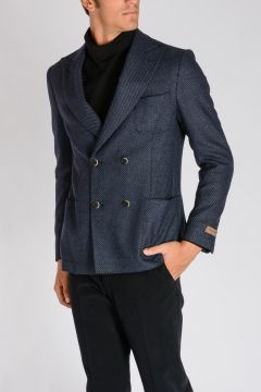 Cotton Virgin Wool Blazer