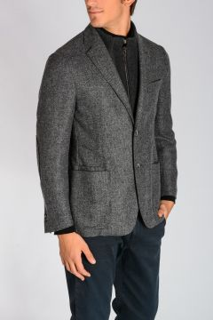 Wool Cotton Cashmere Blazer
