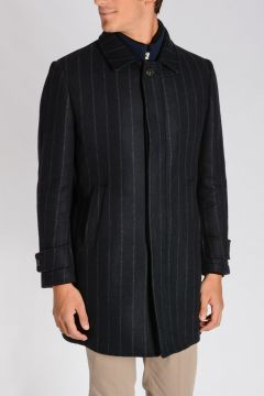 CORNELIANI ID Wool Blend Coat