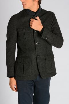 CORNELIANI ID Wool Virgin & Cashmere Jacket