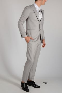 Virgin Wool and Silk in 3 pieces CERIMONIA Suit