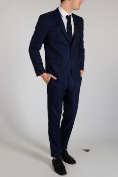 CC COLLECTION Virgin Wool RIGHT Pinstripe Suit