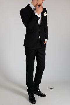 Virgin Wool and Silk CERIMONIA Suit
