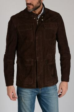 ID Suede Leather Jacket