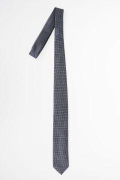 Checked Silk Tie