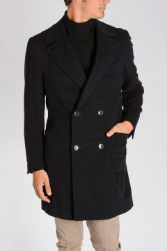 Virgin Wool & Angora Coat