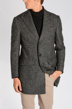 Virgin Wool, Camel & Cashmere Coat