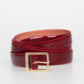 20mm Patent Leather Belt