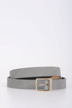 21mm Leather Slim Belt