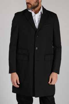 CC COLLECTION Nylon and Wool DIAGONALE NY Coat