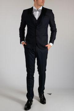 CC COLLECTION Virgin Wool Blend 3 pieces CERIMONIA Suit