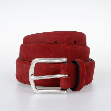 Suede Leather Belt 30 mm