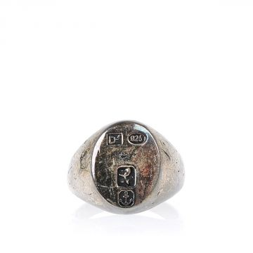 Silver sigillo Ring