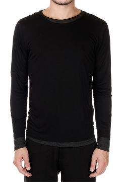 T-shirt Manica Lunga Doppio Strato