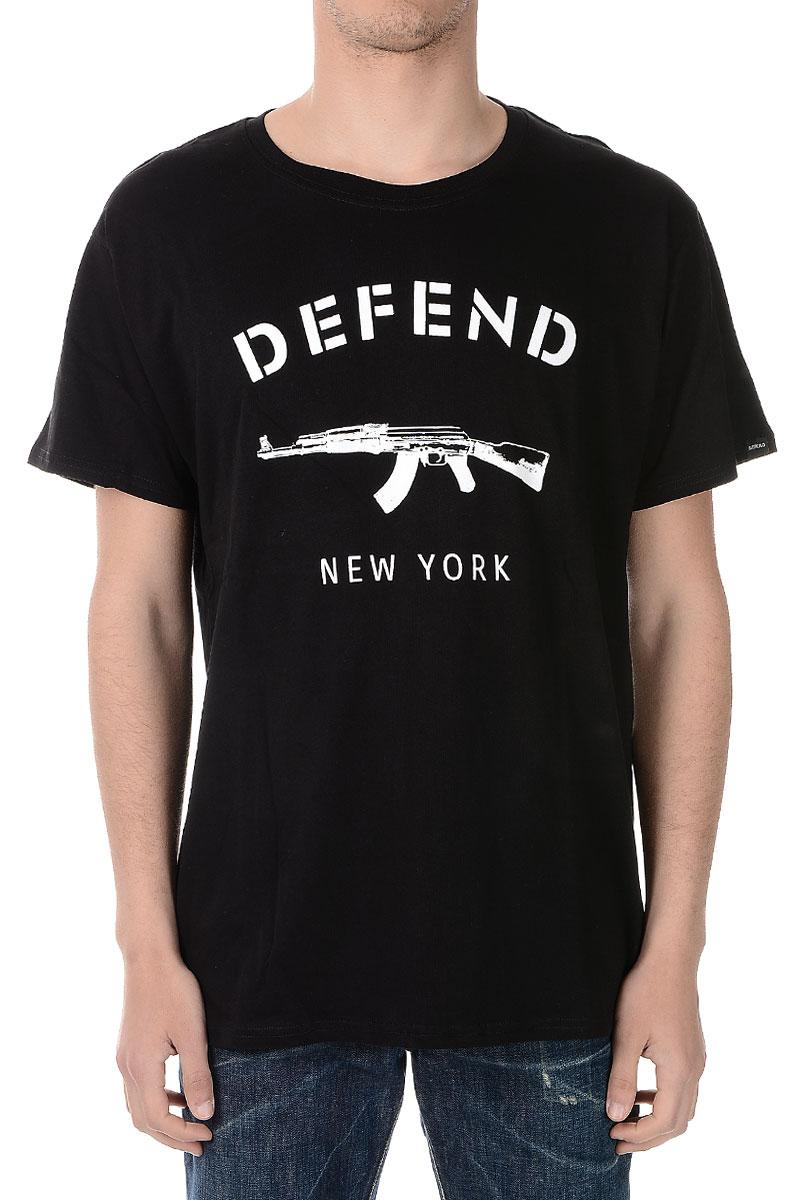 64d0c694 Men Cotton Jersey NEW YORK T-shirt - Glamood Outlet