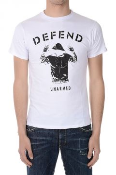 T-shirt UNARMED in Jersey Cotone