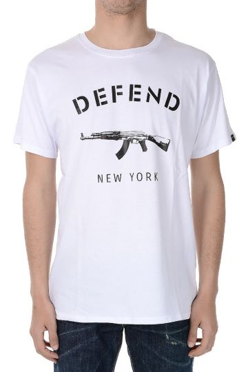 Cotton Jersey NEW YORK T-shirt
