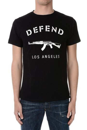 Cotton Jersey LOS ANGELS T-shirt
