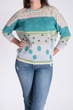 Glittered Knitted Pullover