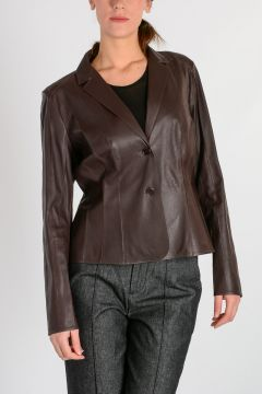 ANATOMIC Leather Blazer