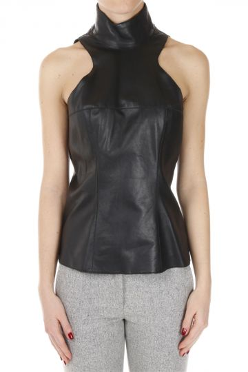 Leather ALICE Top