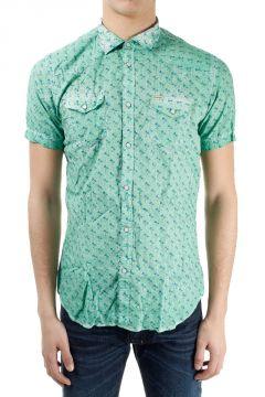 Camicia misto lino cotone