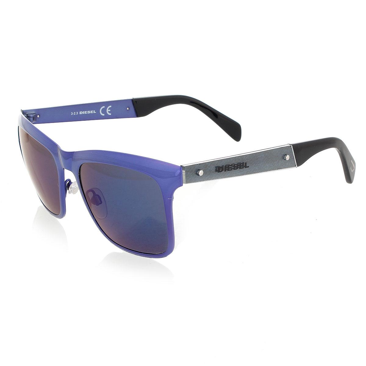 Diesel uomo occhiali da sole con lenti colorate glamood outlet - Occhiali con lenti a specchio colorate ...
