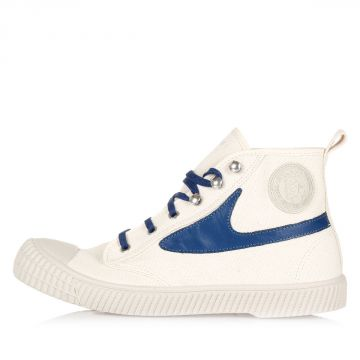 Sneakers Alte DRAAGS54 in Cotone e Pelle