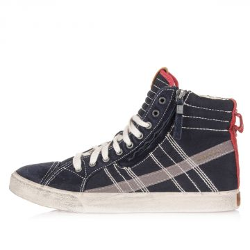 Sneakers Alte D-VELOWS D-STRING in Tessuto