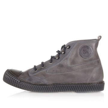 Leather DRAAGS54 High Sneakers