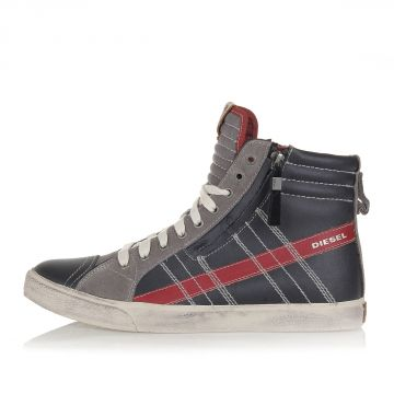 Leather D-VELOWS D-STRING High Sneakers