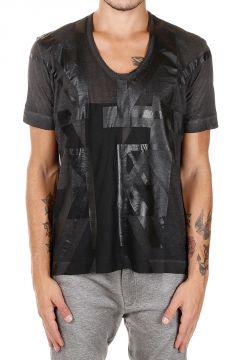 BLACK GOLD T-shirt TETTONY Stampata