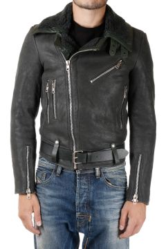 BLACK GOLD Giacca Biker LASHEAR in Pelle