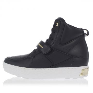 3 cm Wedge Leather D-PRINCE W Sneakers