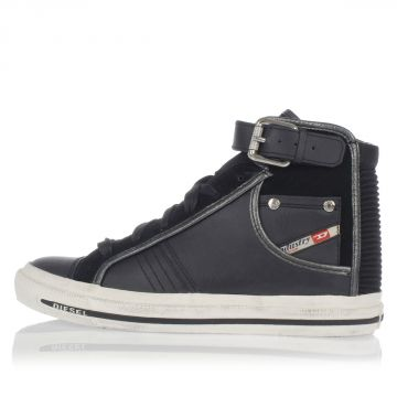 Leather S-BUCKLET W High Sneakers