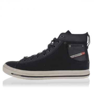 Sneakers MAGNETE EXPOSURE I Alte in Pelle e Tessuto