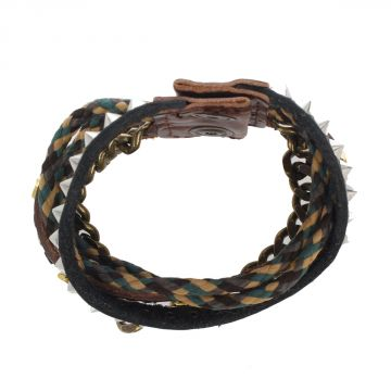 Metal Leather ARIVLA Bracelet