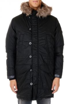 Down Jacket with Detachable Hood