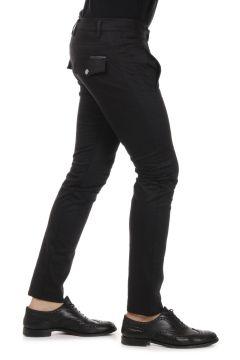 BLACK GOLD Pantalone in cotone Stretch