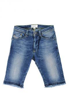 DARRON-R J Cotton Bermuda Jeans