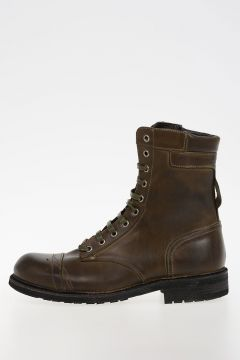 Leather CASSIDY Army Boots