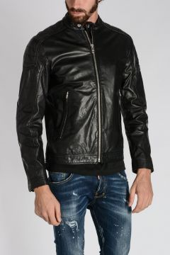 Leather L-MONIKE Jacket