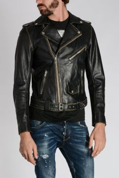 Leather UMENIROK Biker
