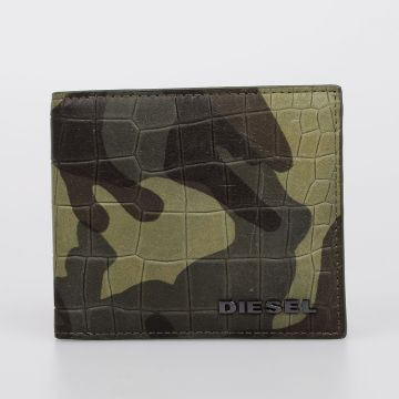 Leather Camouflage JUNGLE LEAVES HIRESH S wallet