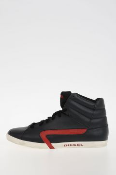 Sneakers E-KLUBB HI in Pelle