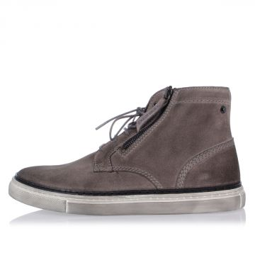 Leather D-BLAAST MID Laced Shoes