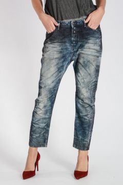 Jeans EAZEE in Denim Stonewashed 16 cm