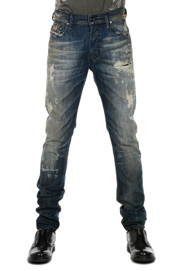 Jeans TEPPHAR L.34 In Denim stretch 15 cm